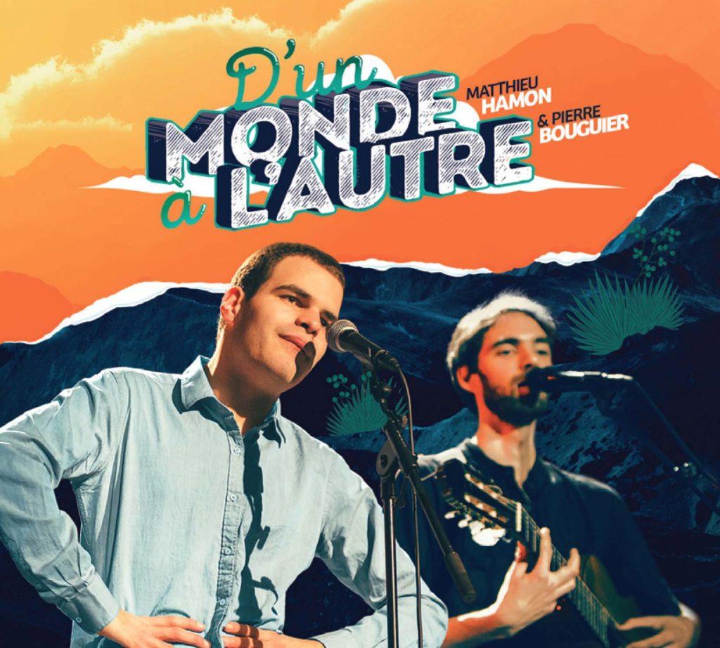 Matthieu Hamon et Pierre Bouguier - Jacket CD