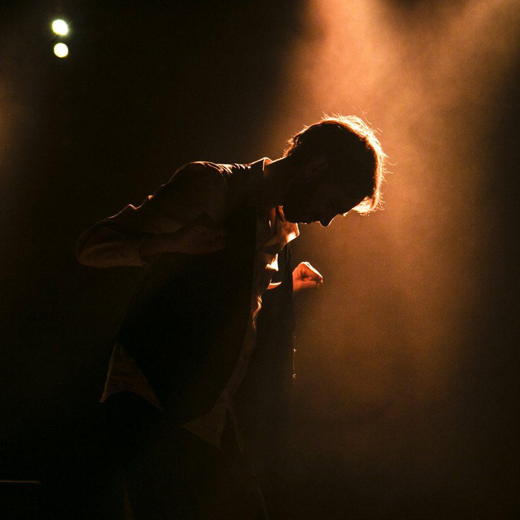 Pierre Bouguier sur scène