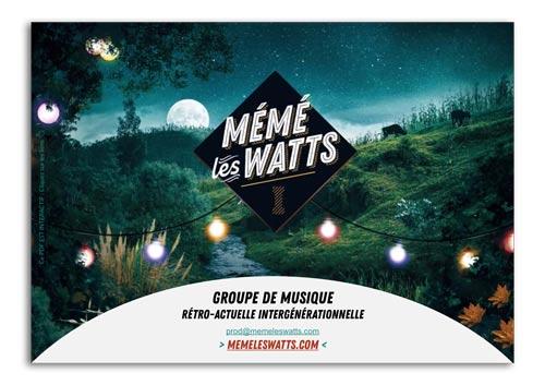 Dossier de presse de MÉMÉ LES WATTS
