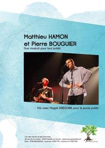 Dossier de presse Matthieu Hamon et Pierre Bouguier