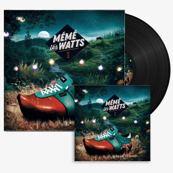CD et Vinyl Mémé les Watts - Album 1