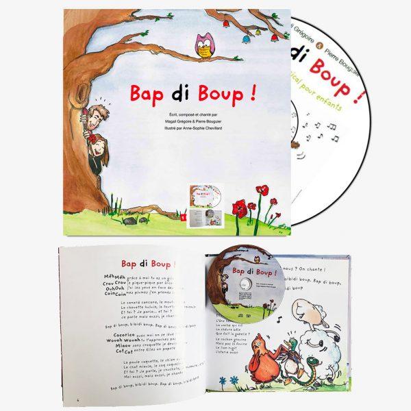 """Livre-CD """"Bap di Boup !"""""""